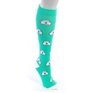 Nurse hat Leg compression work socks L XL